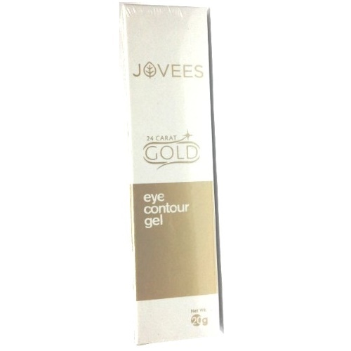 Гель для кожи вокруг глаз 24 карата Золота Джовис,  Gold Eye Contour Gel Jovees 24 Carat, 20 г.